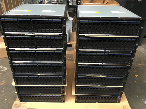 3 x IBM System Storage N6040 2858-A20 / 20 x IBM EXN4000 w/ 450GB and 300GB FC Drives